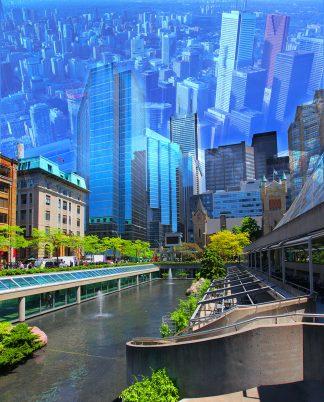 Creative Toronto City Photo Montage 1