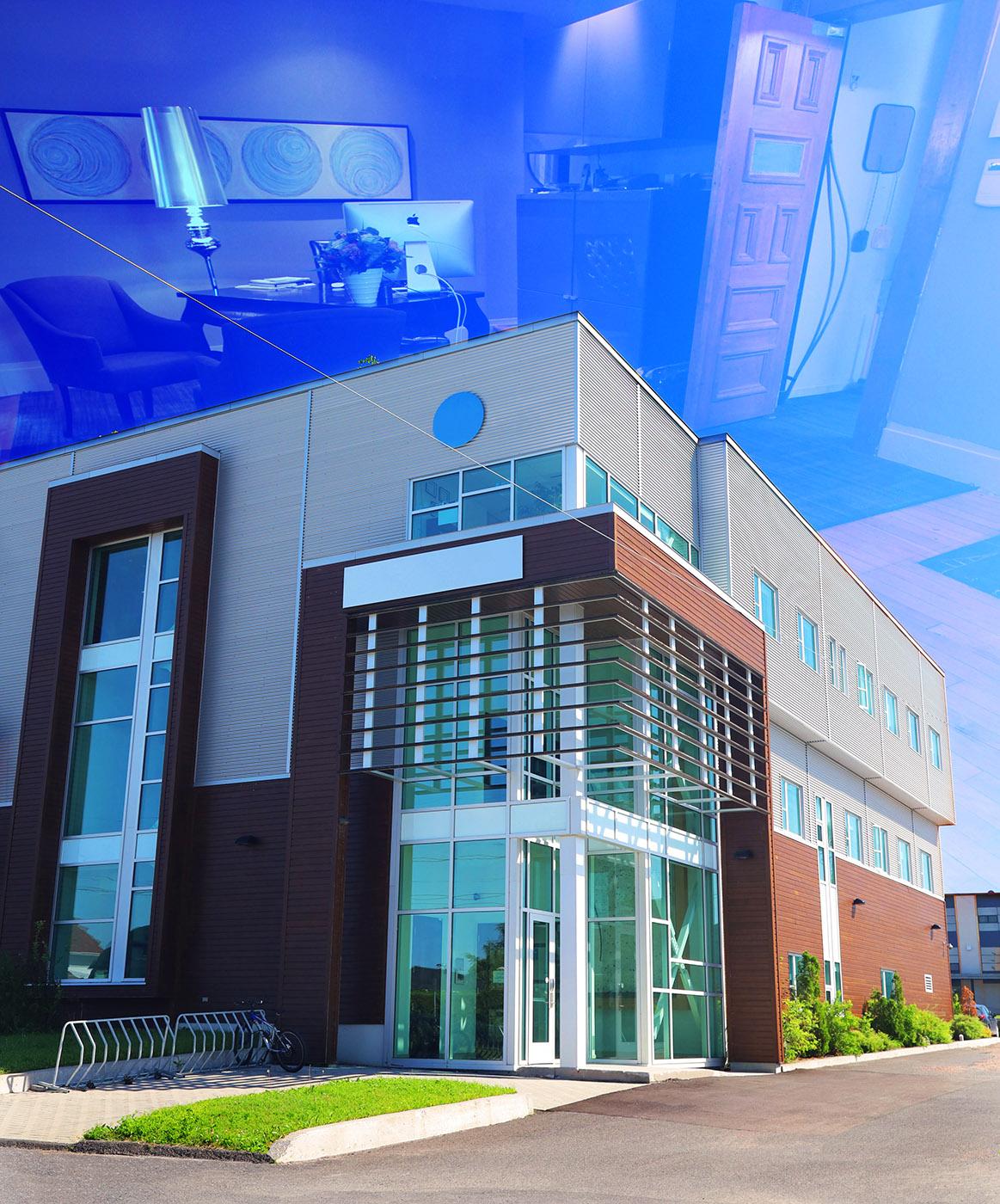 Modern Office Building - RF Stock Image