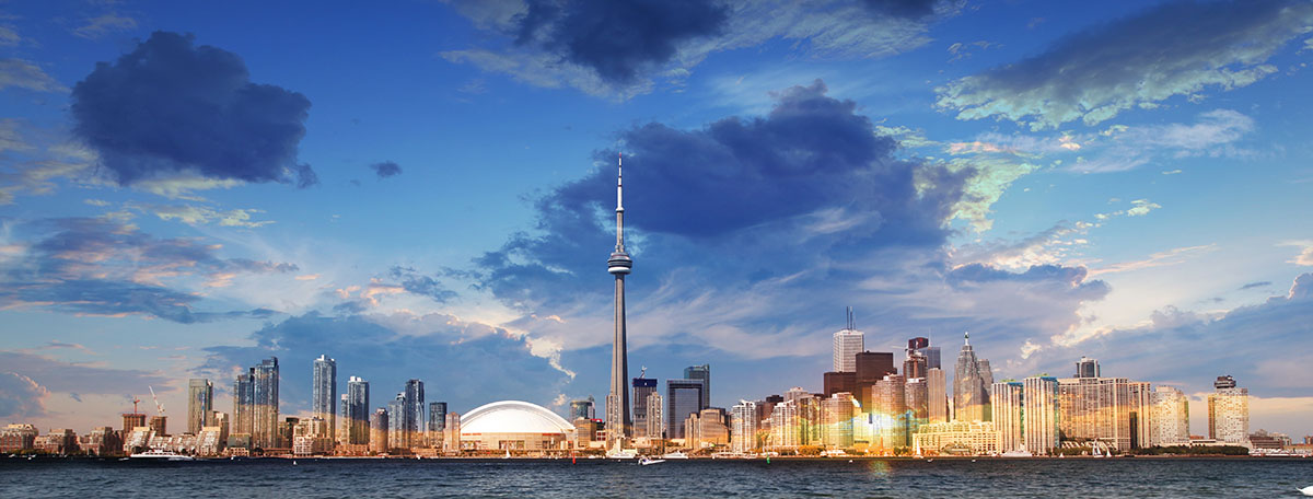 Toronto City Daytime Skyline - RF Stock Image