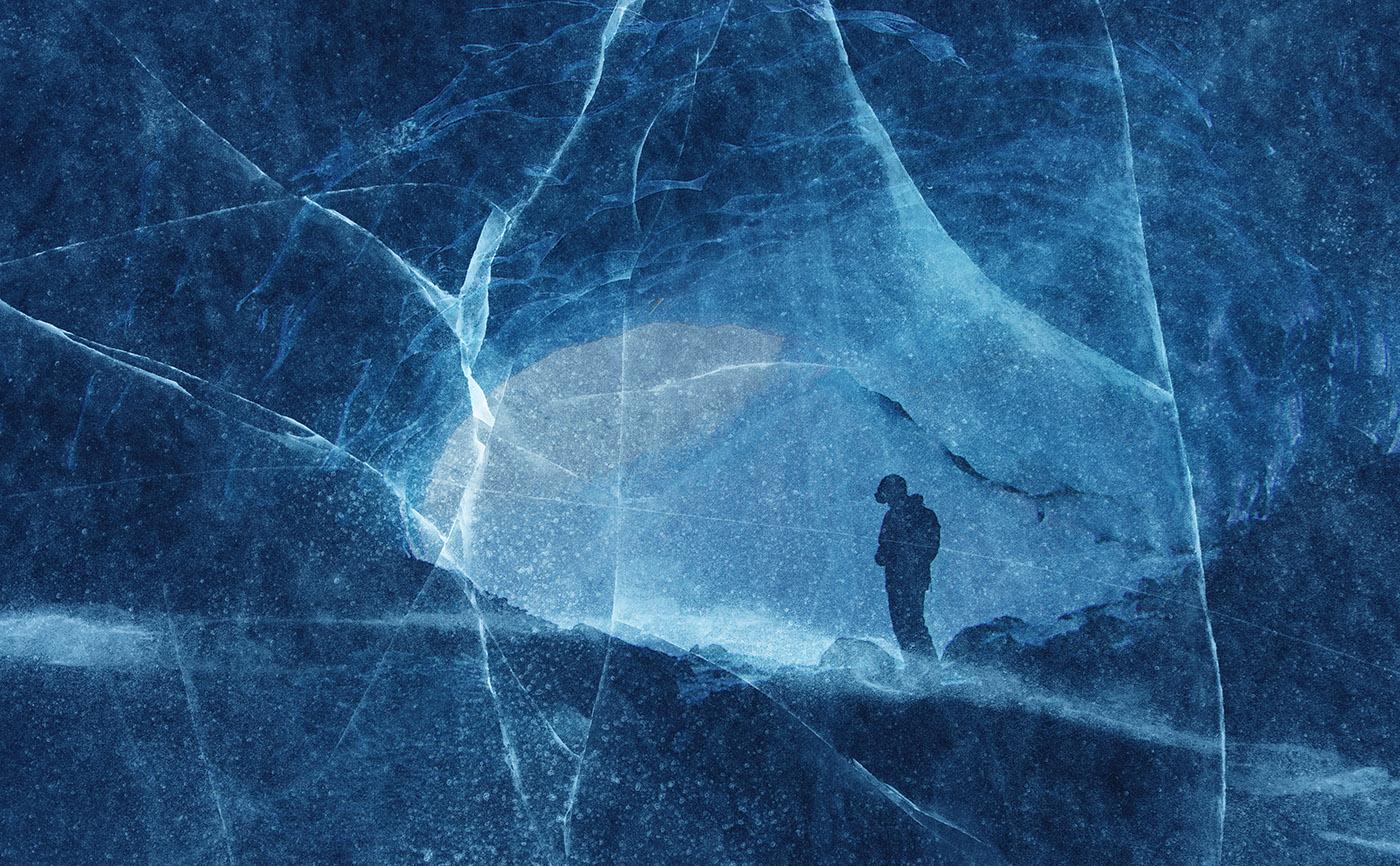 Unleashed Ice Age 01 - RF Stock Image