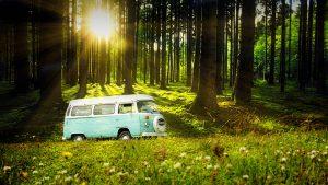 Vintage VW Camper Van Road Trip 04