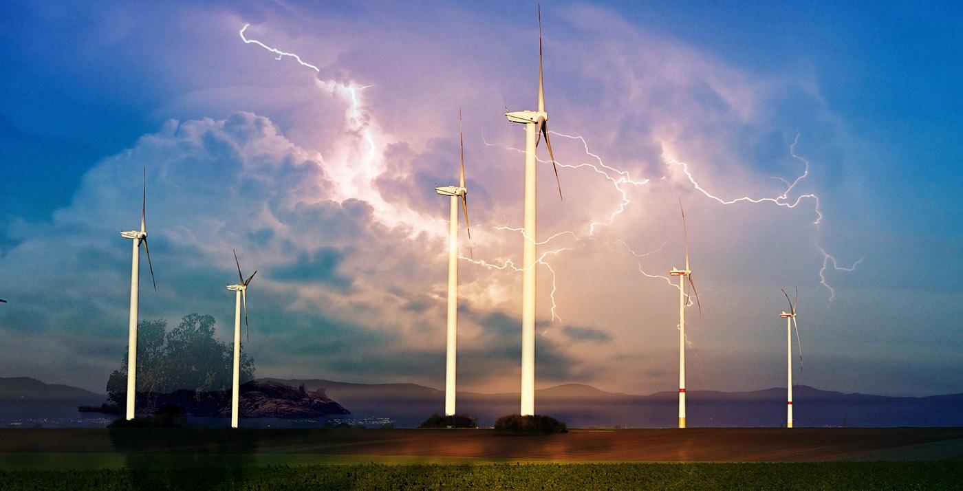 Windmill Energy Production 01 - RF Stock Image