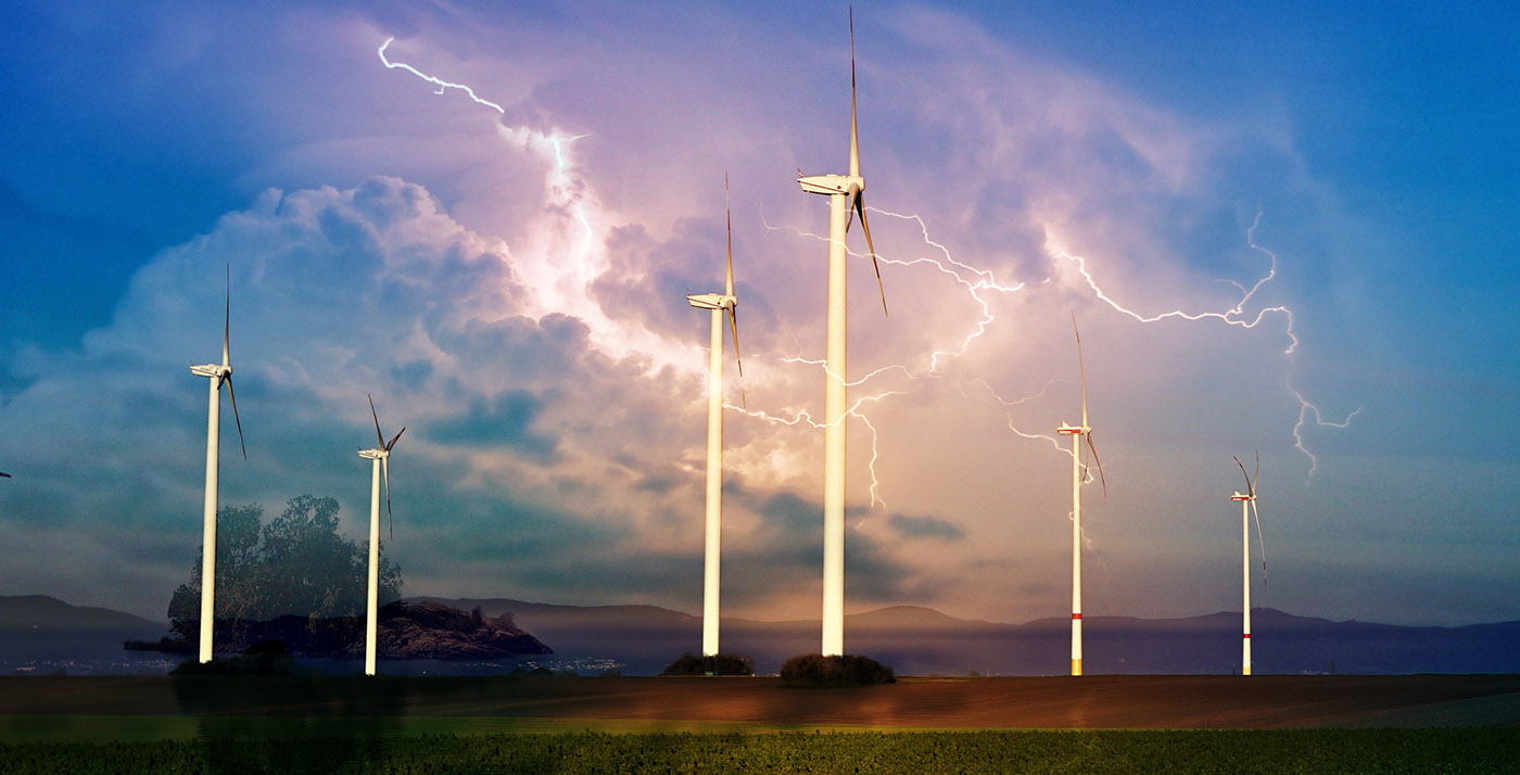 Windmill Energy Production 01 - RF Stock Image